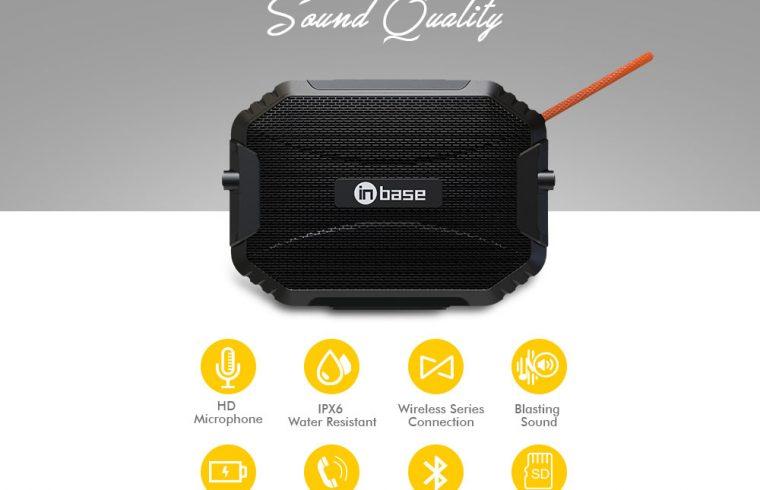 Inbase Boom Plus Wireless Speaker (1)