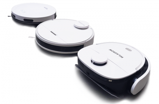 Milagrow 3 New Robotic Vacuum Cleaners