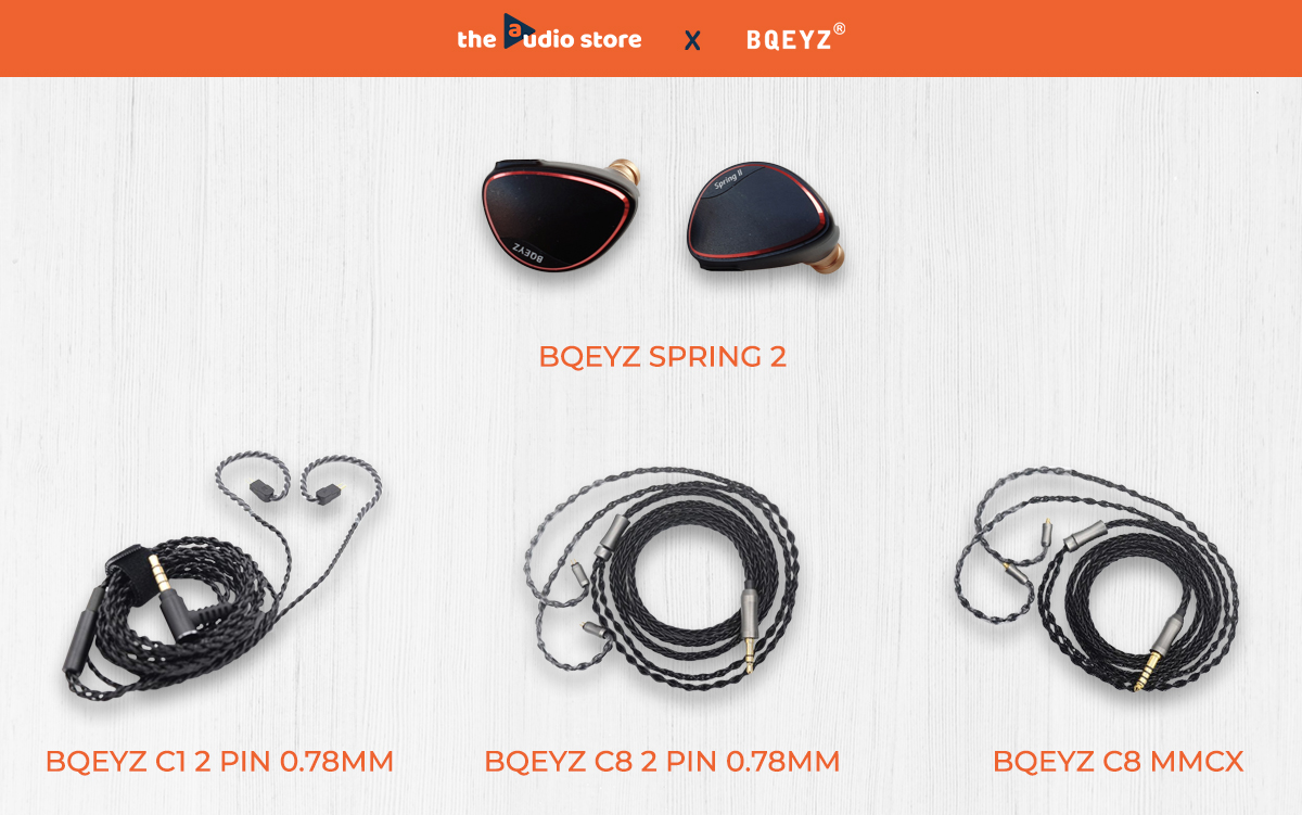 BQEYZ launches Spring 2 triple-driver in-ear monitors, cables in India
