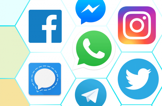 Multiple messaging apps