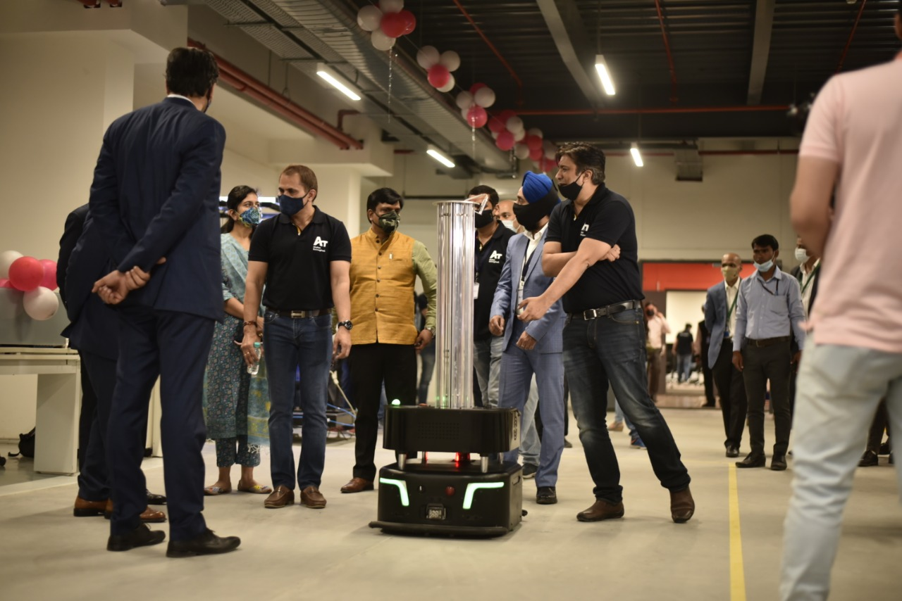 Addverb Technologies sets up Rs 75 cr robots manufacturing facility 'Bot-Valley' in Noida