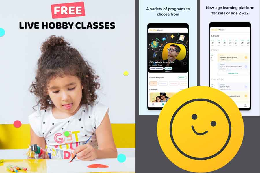 Yellow Class: Designed for parents and kids looking for free online hobby classes from world-class mentors