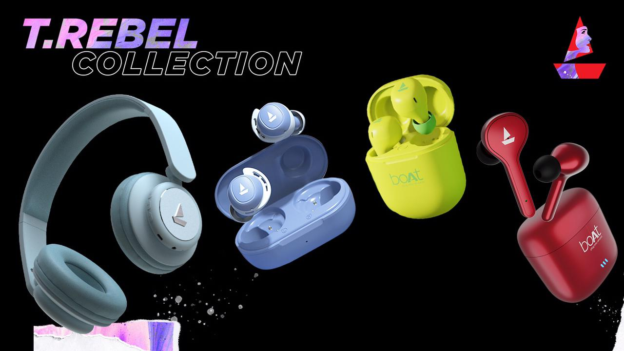 boAt launches 'TRebel' collection of audio wear designed exclusively for women