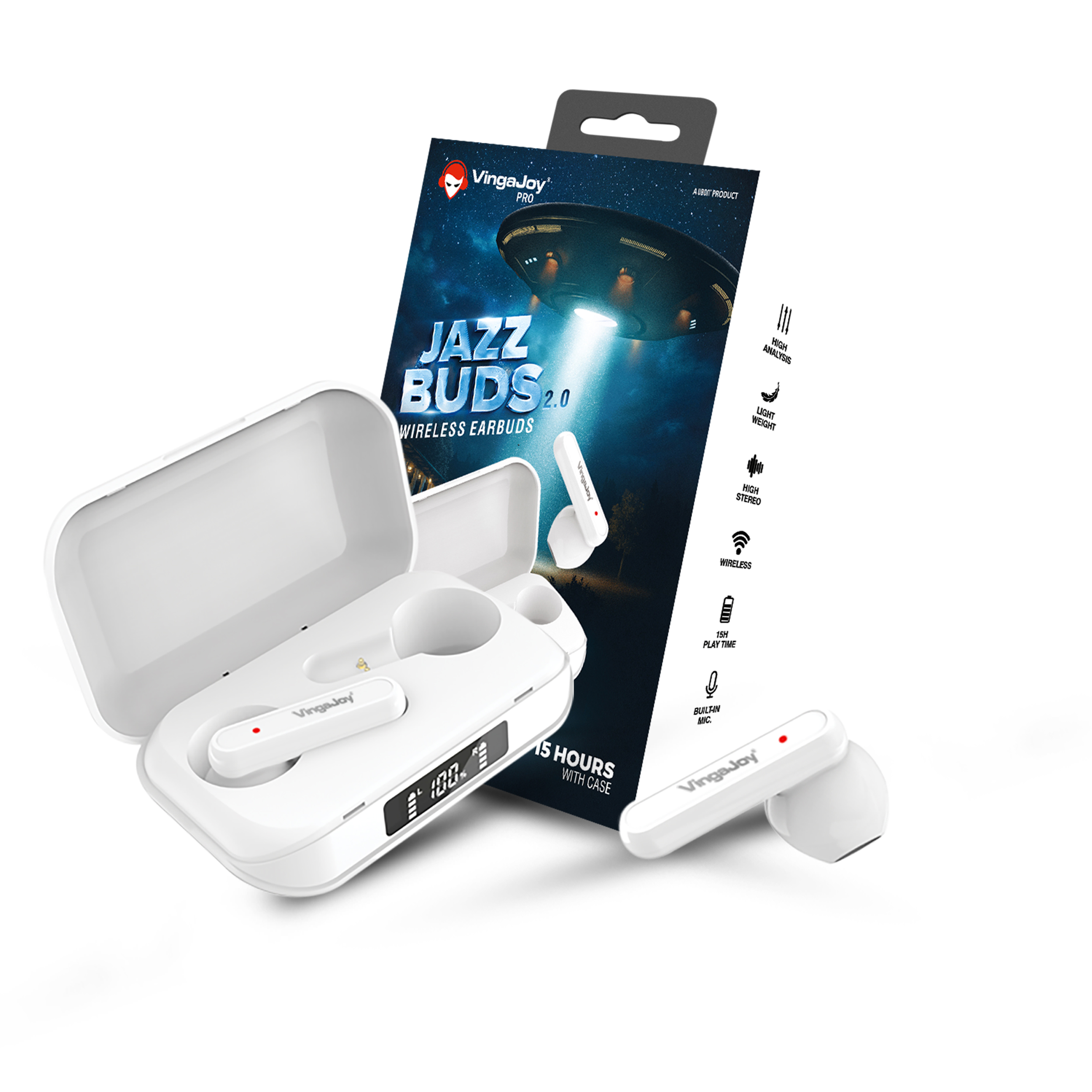 VingaJoy true wireless Jazz Buds 2.0 launched in India at Rs 1,999