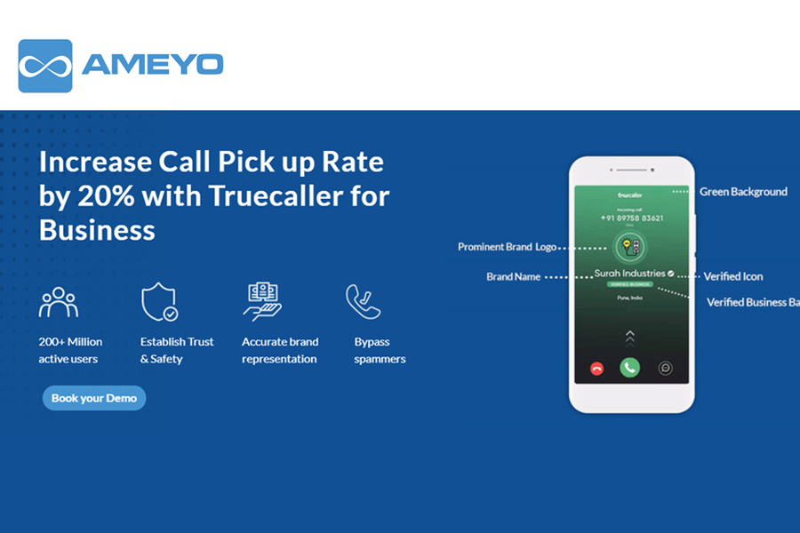 Ameyo partners Truecaller to resell its verified brand identity solutions for enterprises