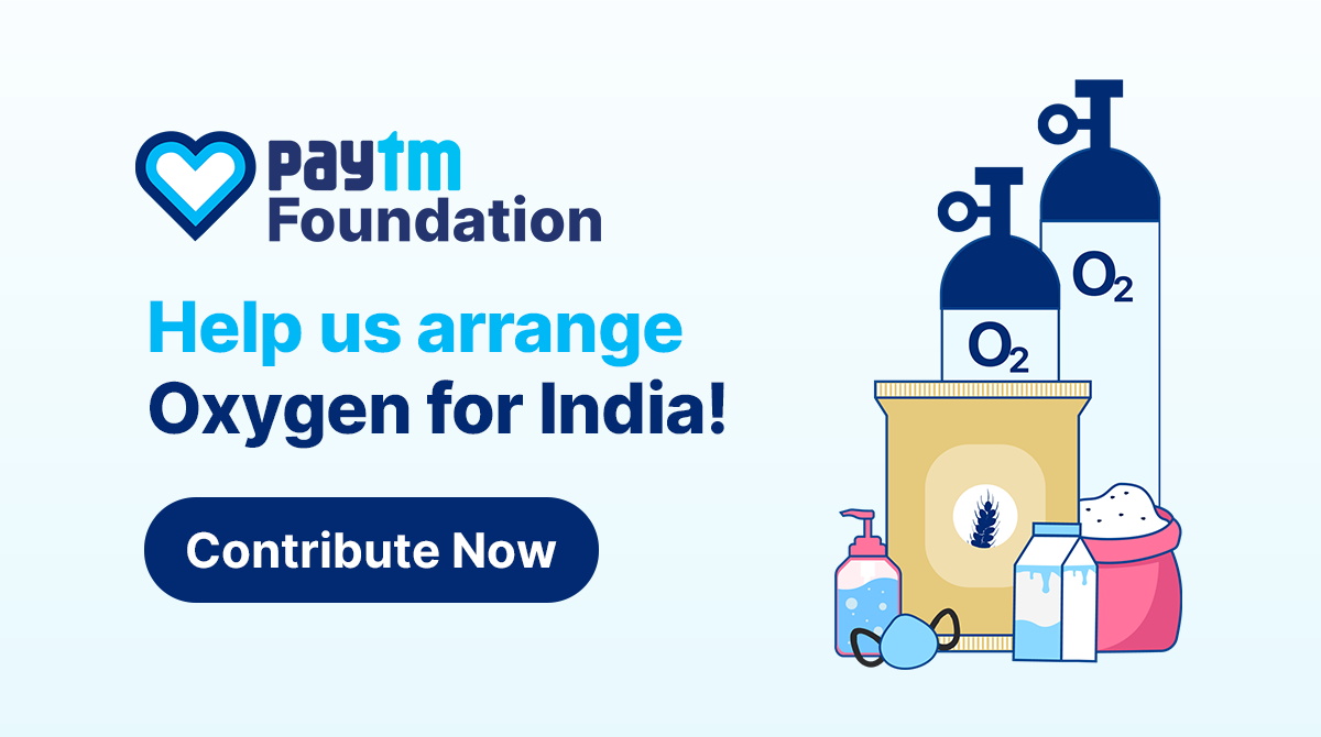 Paytm to set up oxygen plants for long-term sustainable supply across India
