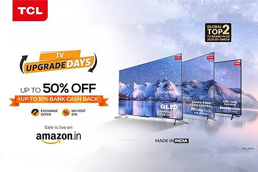 TCL, iFFALCON offer discounts on smart TVs at Amazon
