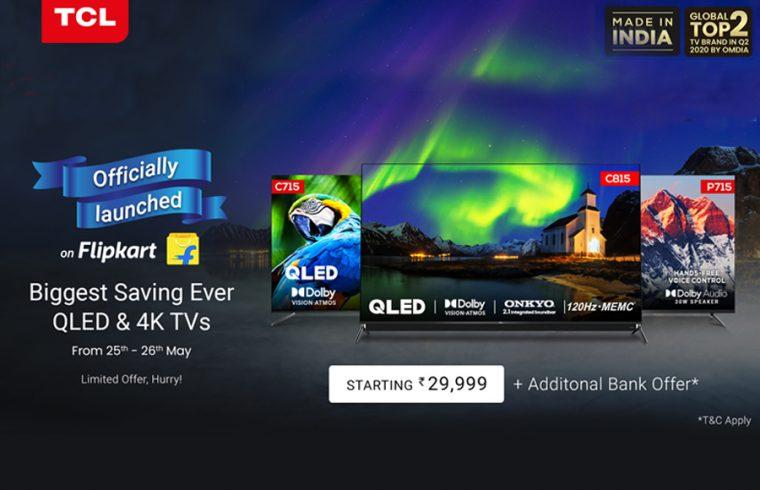TCL smart TVs-Flipkart