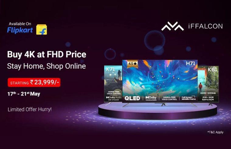 iFFALCON TV-Flipkart Electronic Sale