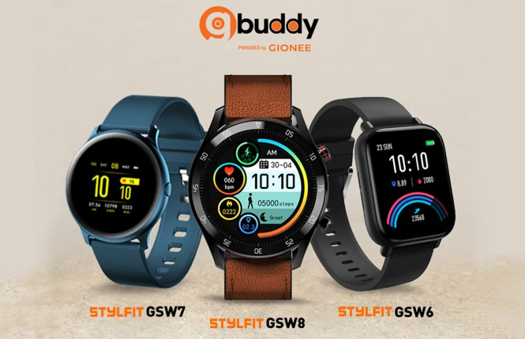 Gionee Stylfit GSW smartwatches