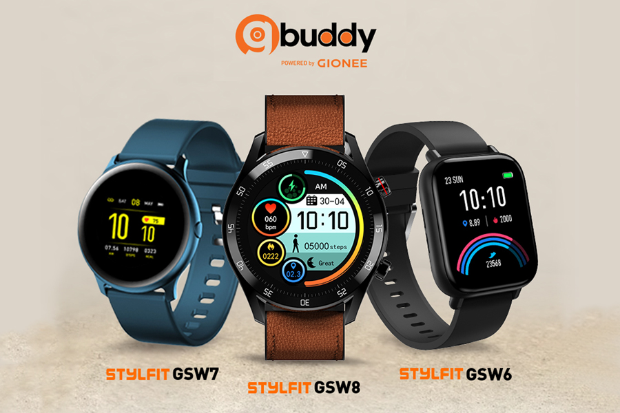 Gionee launches Stylfit GSW6, GSW7 and Stylfit GSW8 smartwatches with Bluetooth calling feature