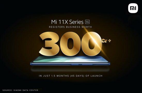 Mi 11X-series sales