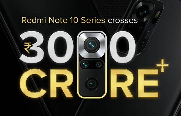 Redmi Note 10 series sales