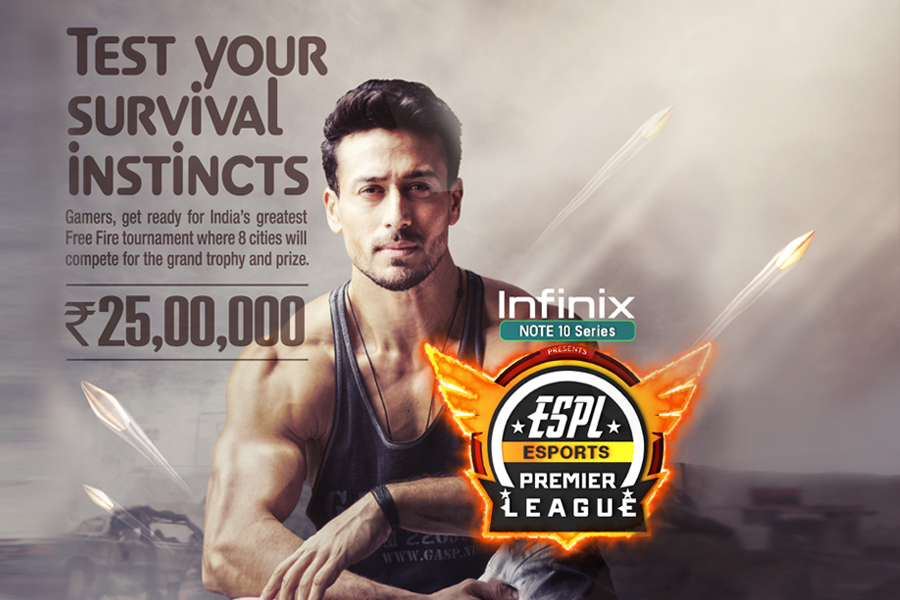 ESPL signs Tiger Shroff as the face of the first-ever franchise based esports league