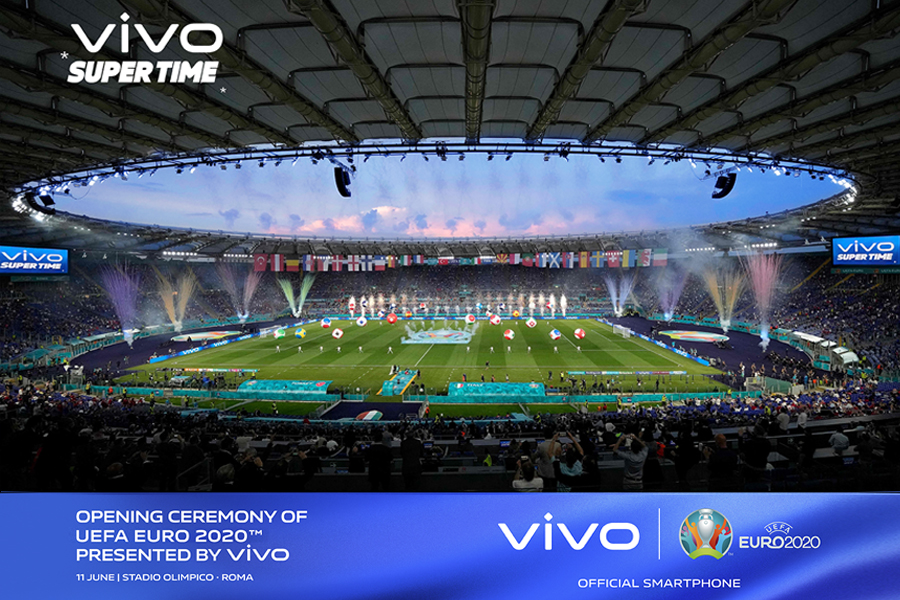 Vivo creates beautiful moments in the opening ceremony of UEFA EURO 2020