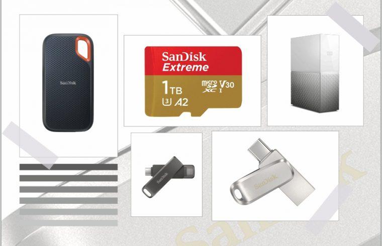 WD-SanDisk storage solutions