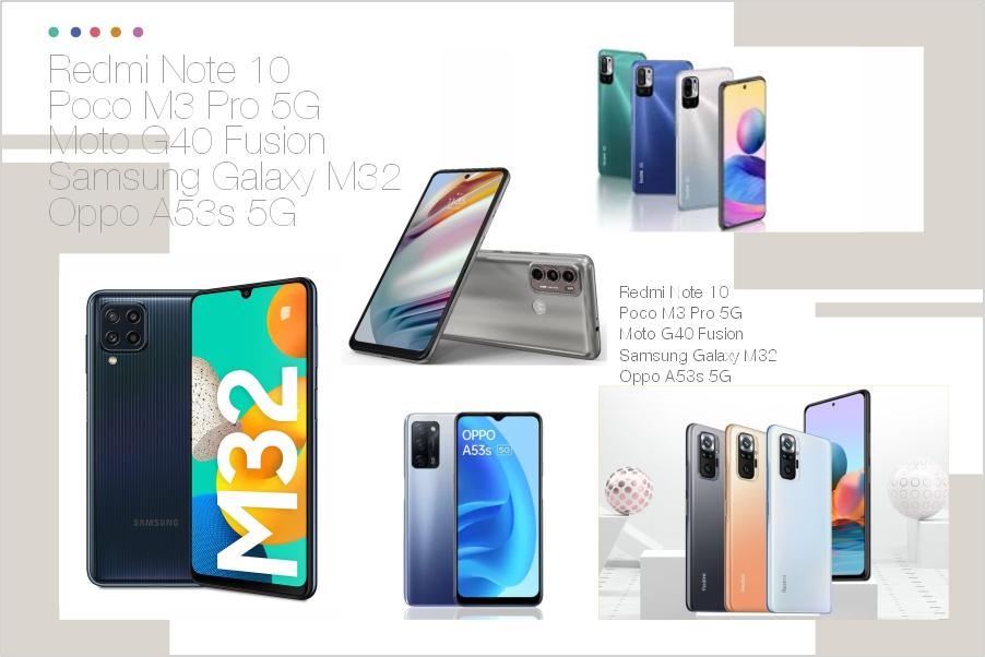 5 best budget smartphones of 2021 under 15K