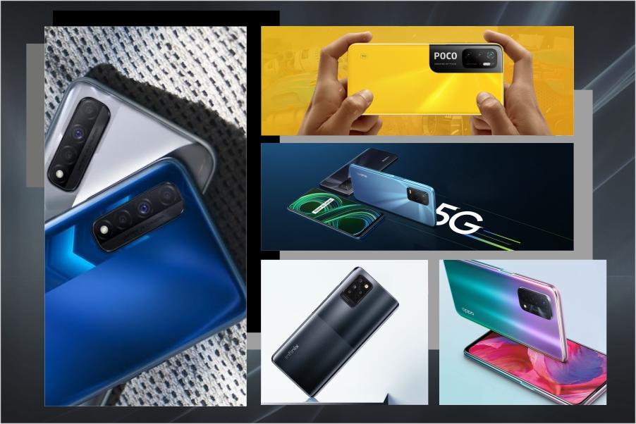 5G smartphones: Top 5 phones in India under 20k