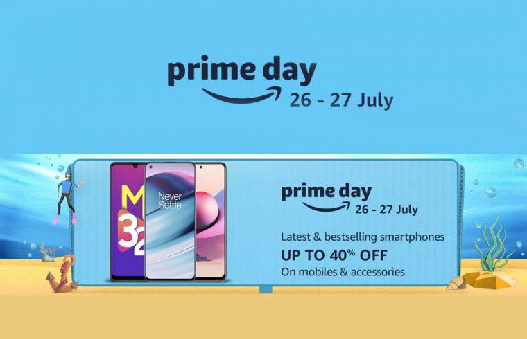 Amazon Prime Day 2021 Sale on smartphones