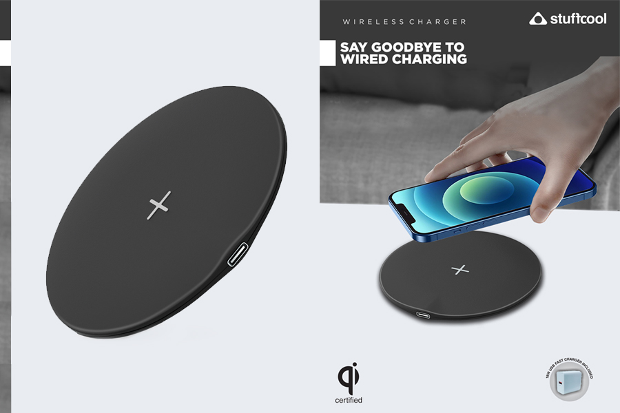 Stuffcool launches WC630 15W wireless charger with 18W adapter