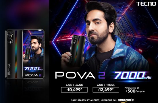 TECNO launches POVA 2 with 7,000mAh battery at Rs 10,999