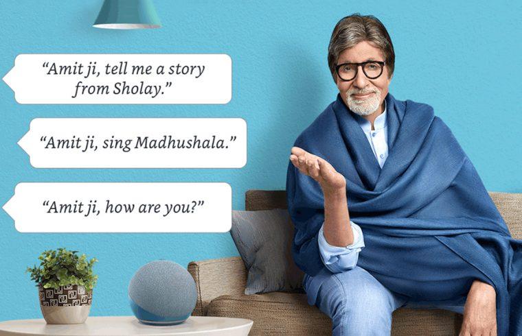 Amazon Alexa gets Amitabh Bachchan's voice