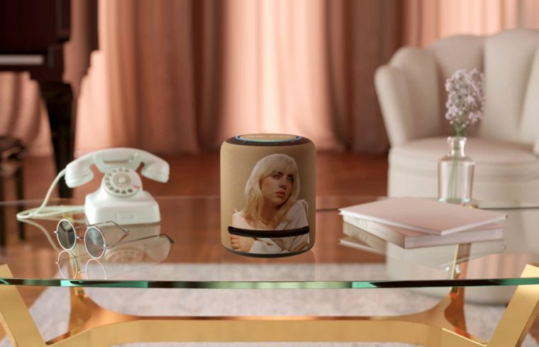 Amazon unveils Billie Eilish Limited-Edition Echo Studio