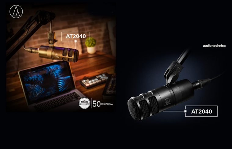 Audio-Technica launches AT2040 microphone for podcasters, content creators