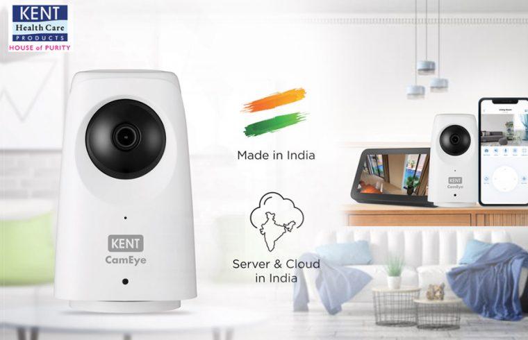 KENT-launches-Smart-Wi-Fi-Camera-'HomeCam-360