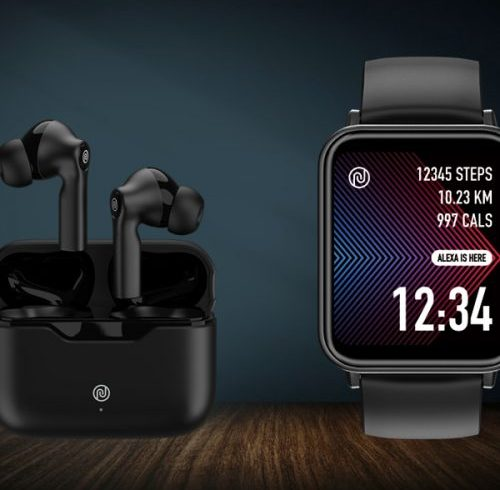 Noise ColorFit Pro 3 Assist smartwatch, Buds VS103 TWS