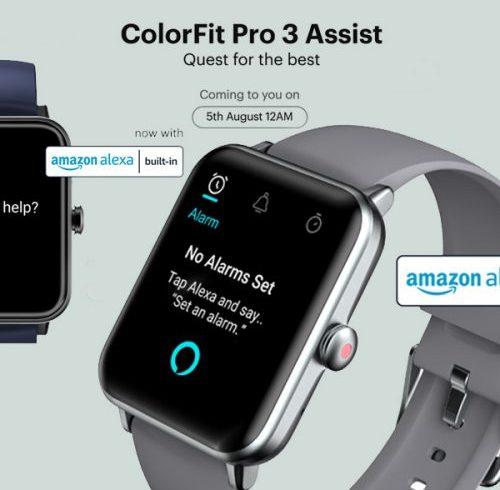 Noise announces launch of ColorFit Pro 3 Assist, Buds VS103 on August 5