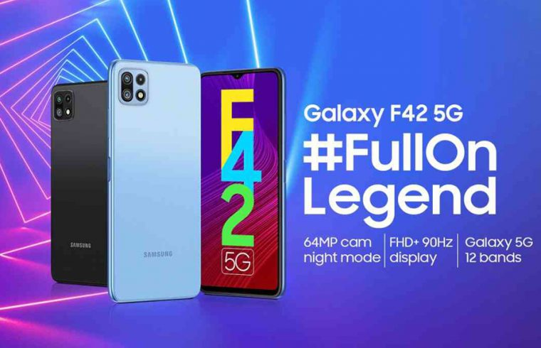 Samsung Galaxy F42 5G to launch in India on September 29