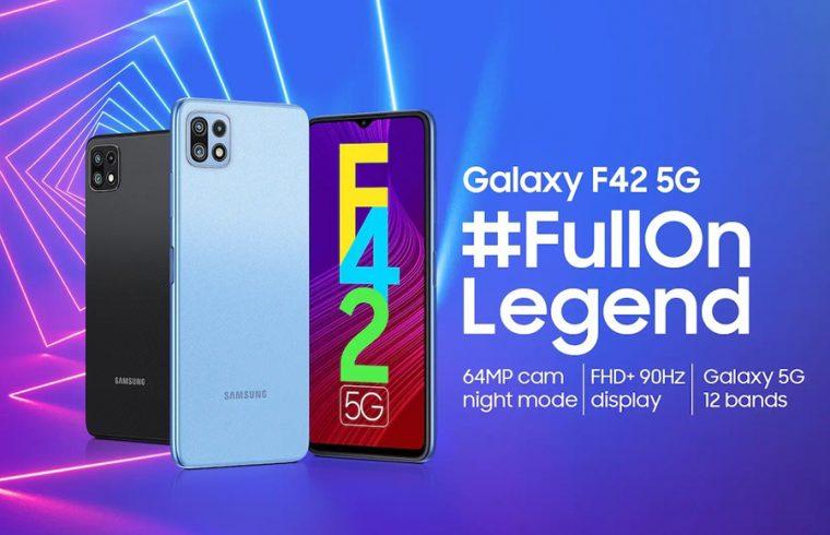 Samsung Launches Galaxy F42 5G