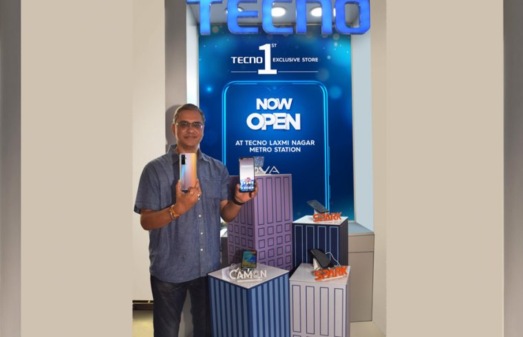 TECNO launches its first exclusive retail outlet in Delhi