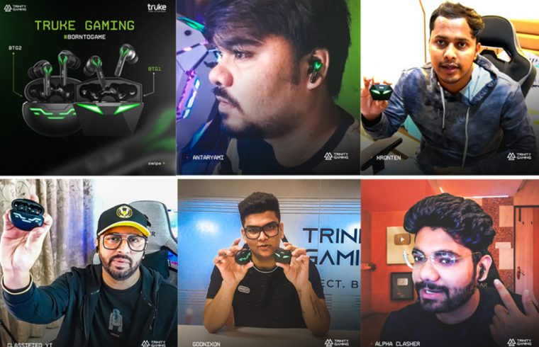 TRUKE COLLABORATES WITH TRINITY GAMING