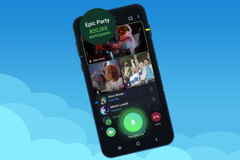 Telegram-Unlimited-Live-Streams