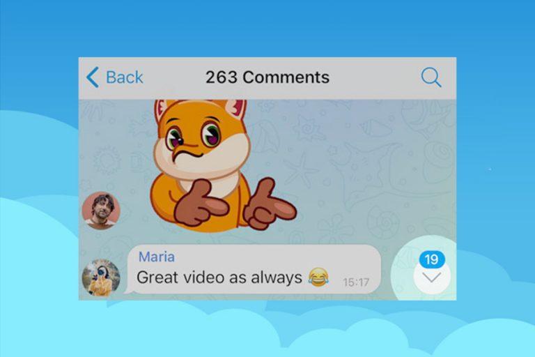Telegram-Unread-Comment-Counters