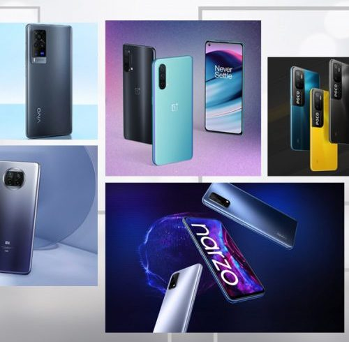 Top 5 5G smartphones in India right now