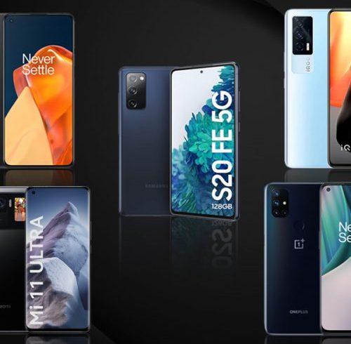 Top 5 Smartphones in India to buy now