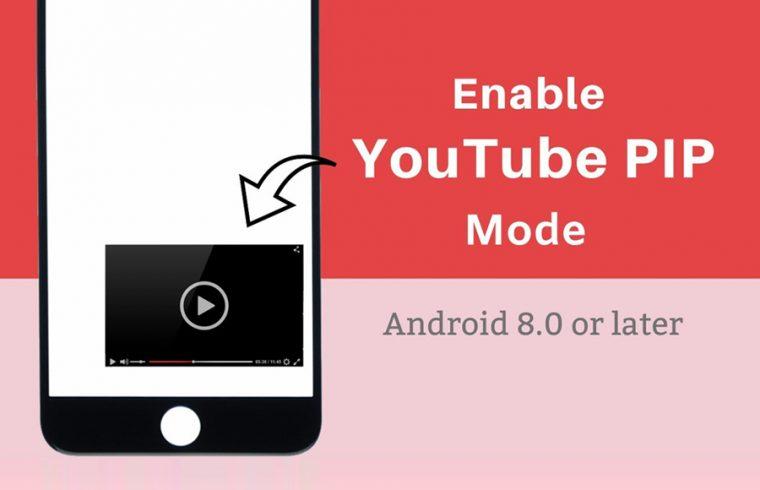 YouTube PiP mode