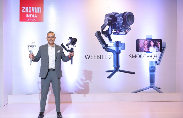 Zhiyun-India-launches-Smooth-Q3-and-Weebill-2-Gimbal