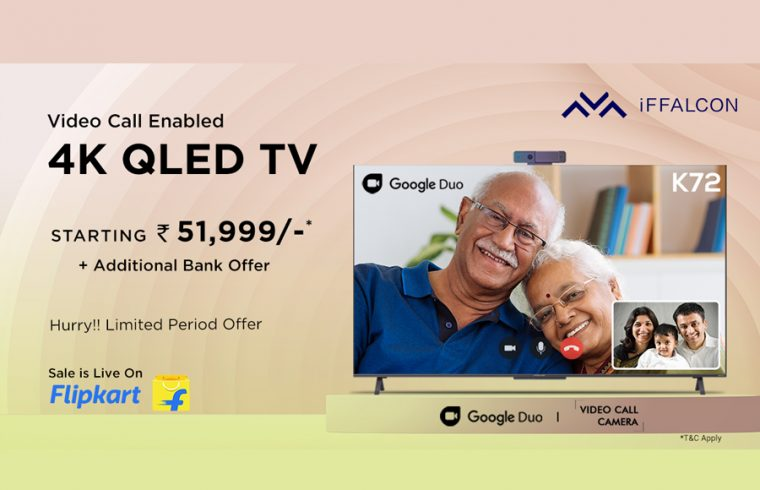 iFFALCON-launches-K72-Smart-TV-with-video-calling-camera