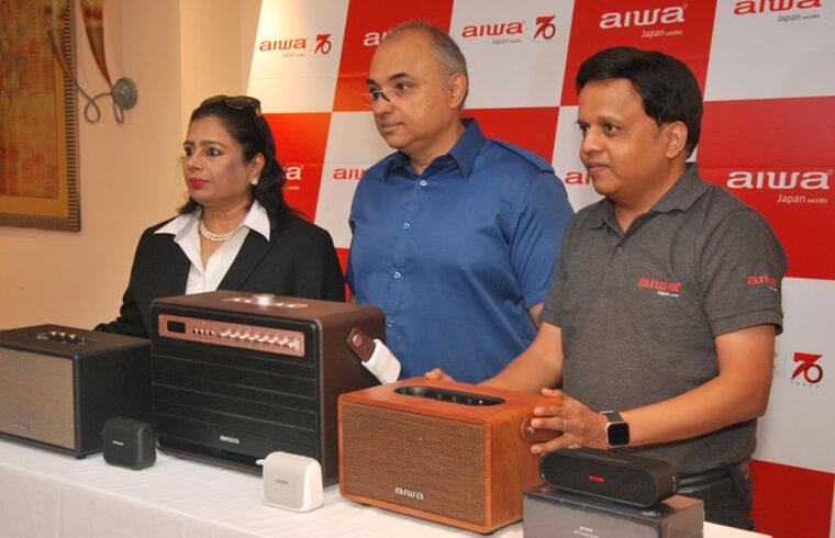 Aiwa speakers launch