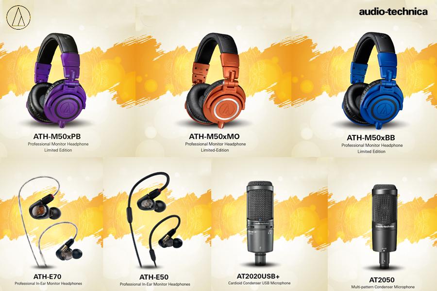 Audio-Technica announces participation in the Amazon Great Indian Festival Sale
