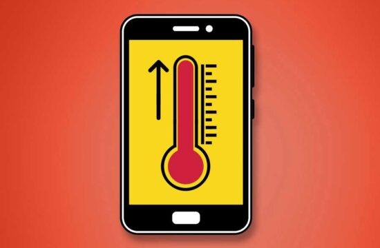 Phone overheating