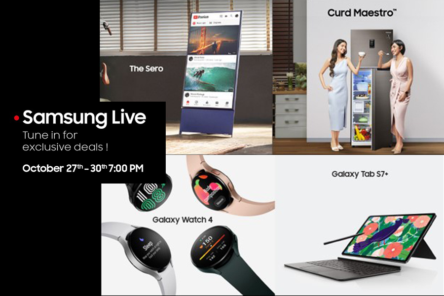 Diwali 2021: Samsung India brings festive cheer with exciting live shopping offers