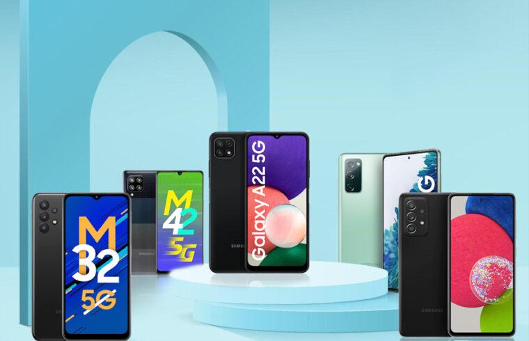 Samsung 5G Smartphones in India