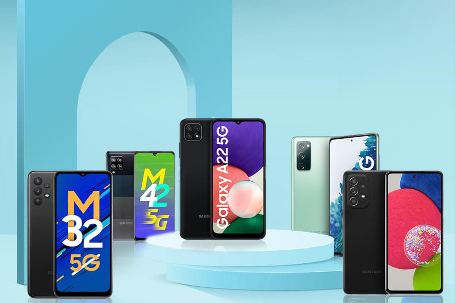 Top 5 Samsung 5G Mobile Phone Price in India 2021 – Specifications, Features, and Comparison