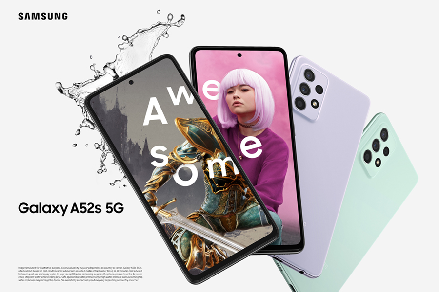 Samsung unveils Galaxy A52s 5G in Awesome Mint colour