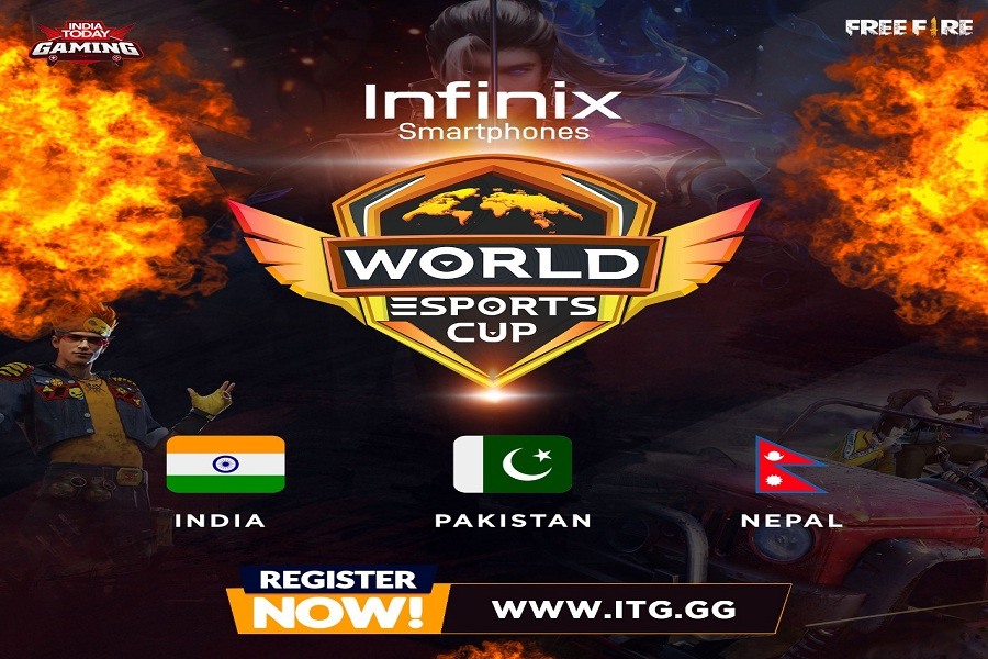 Infinix Smartphones becomes title sponsor of World Esports Cup 2021